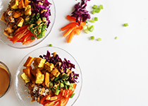 SNAC recipe Thai Buddha Bowl