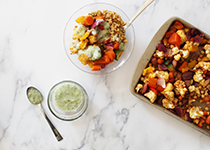 SNAC recipe Veggie Grain Bowl