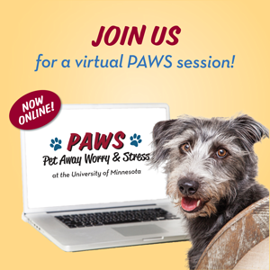 Join us for a virtual PAWS session